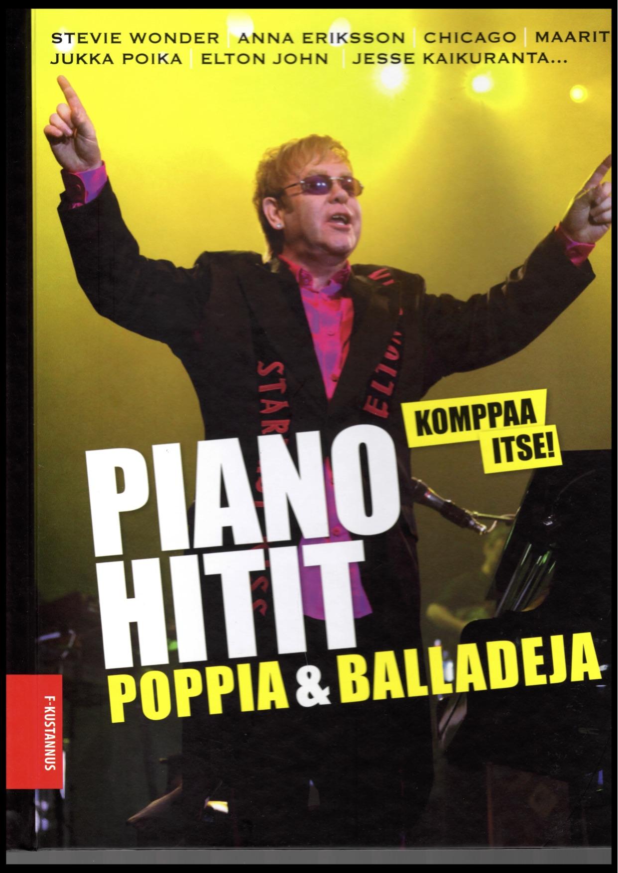 pianohitit poppia ja balladeja